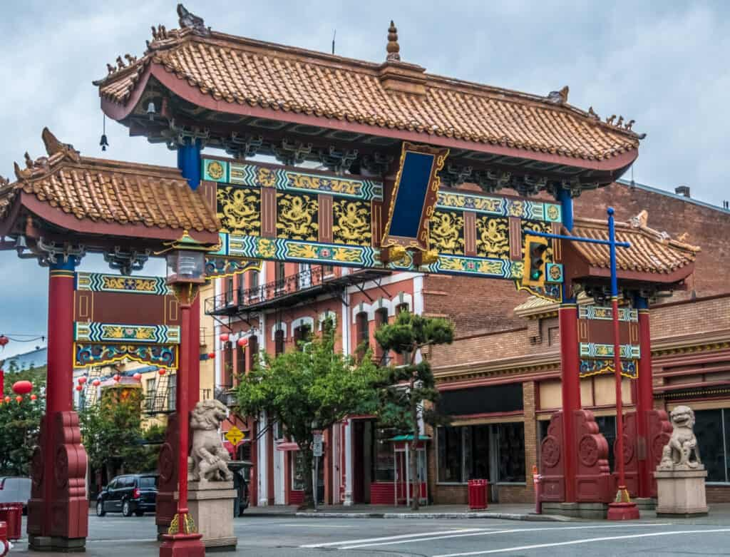 Gate of Harmonious Interest Victoria BC
