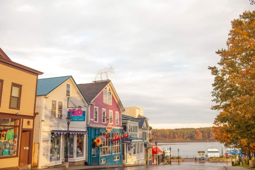 Bar Harbour Downtown