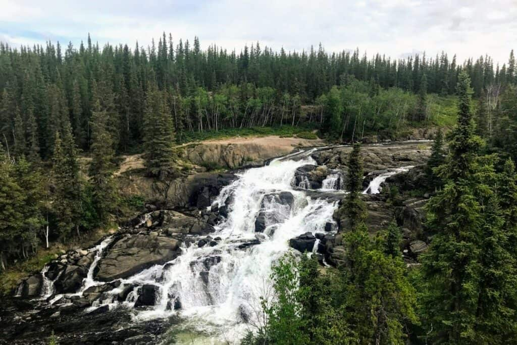 Hiking Yellowknife Cameron Falls