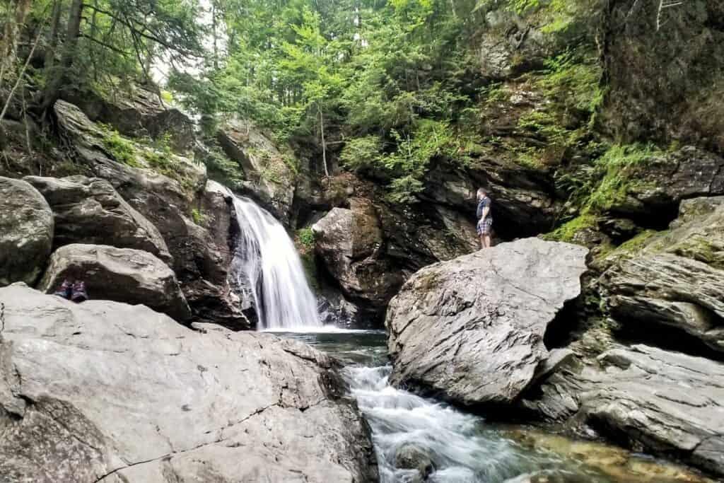 Bingham Waterfall, Stowe, Vermont