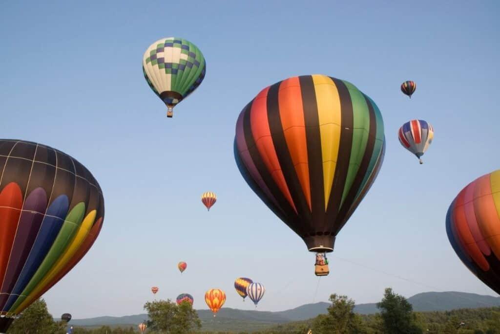 Hot Air Balloon  Stowe, VT