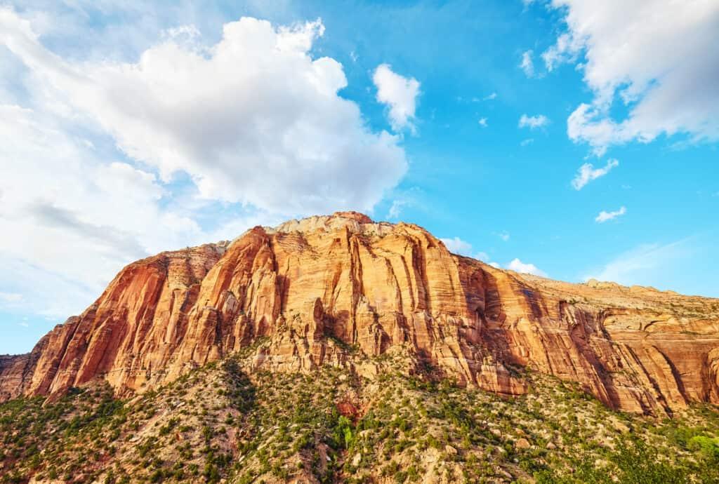Zion National Park Mountain