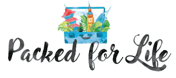 Packed for life mobile logo